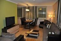 Három légterű, légkondícionált luxus apartmanok 2-6 fő részére Cserkeszőlőn - Aqua Spa Wellness Apartmanház Cserkeszőlő