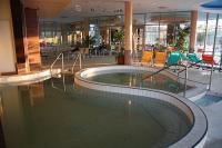 Termálvizes medence a Balneo Hotel Zsóry mezőkövesdi szállodában