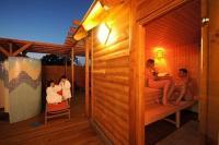 Hotel Béke szaunája Hajdúszoboszlón wellnesst kedvelőknek