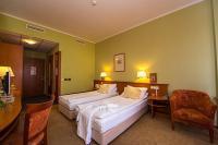 Hotel Aquarell Cegléd - Tágas kétágyas szabad szoba a ceglédi Aquarell szállodában.