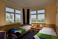Hotel Jagelló Budapest kétágyas szobája akciós áron Buda szívében