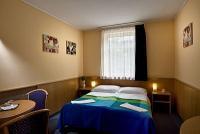 Hotel Jagelló Budán Akciós franciaágyas szobája a Mom Parknál