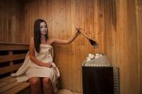 Gosztola Gyöngye Wellness Hotel szaunája wellnesst kedvelőknek