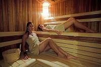 Hotel Historia Veszprém szaunája akciós wellness szolgáltatással