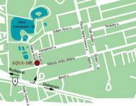 Hunguest Hotel Aqua-Sol Térkép