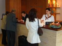 Budapesti Castle Garden szálloda recepciója - 4 csillagos szálloda a Várnegyedben