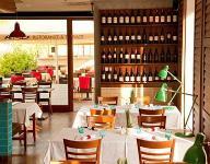 Hotel Castle Garden étterme Budapesten - szálloda a Várban