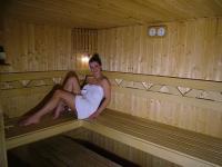Szauna a mezőkövesdi Hajnal szállodában - wellness hotel a Zsóry Gyógyfürdő közelében