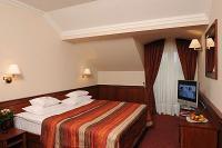 Kétágyas szoba az egri Wellness Hotel Ködmönben Egerben a Szépasszony völgyben