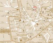 Eger térkép  Minaret szálloda Egerben