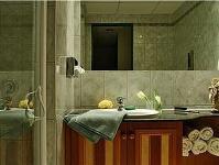 Hotel Palace Hévíz apartman fürdőszobája - Hévízi szállodák