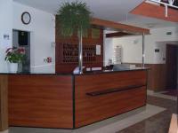 A 3 csillagos Hotel Pontis recepciója Biatorbágyon