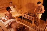 Sauna Zalakaroson a Hotel Karos Spa szállodában