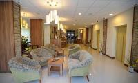 Hotel Park Gyula*** lobbyja romantikus és elegáns környezetben