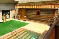 Saliris Resort Wellness Hotel**** rönk szaunája Egerszalókon