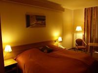 Aqua Termál Hotel Akciós kétágyas szobája Mosonmagyaróváron