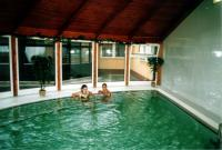 Termál Hotel Aqua Mosonmagyaróvár - Termálmedence a szálloda wellness részlegében