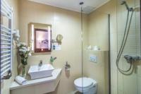 4* Patak Park Hotel fürdőszobája Visegrádon