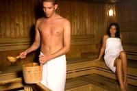 Thermal Hotel Visegrád finn szaunája Budapest közelében Visegrádon