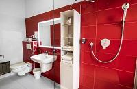 Fürdőszoba a Hotel Rubinban - Wellness Business Hotel Rubin
